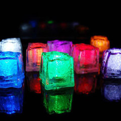 Lichtgevende IJsblokjes