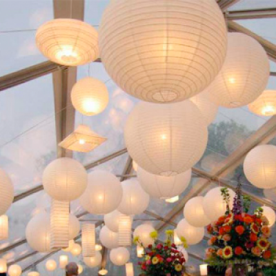 Lampion-lampje 10 stuks