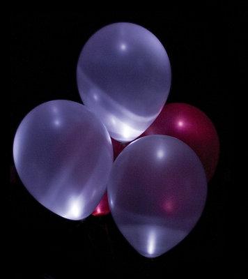 Lichtgevende ballon lampjes 10 stuks