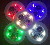 Lichtgevende onderzetters voor glazen_