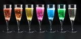 Witte lichtgevende champagneglazen 10_