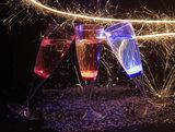 Blauwe lichtgevende champagneglazen 10_