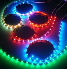 RGB led strip 5 meter ip65