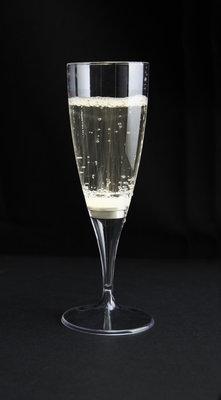 Set van 2 Lichtgevende Champagneglazen