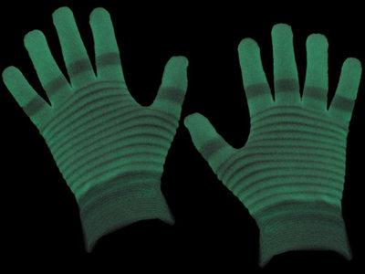 Lichtgevende glow in the dark handschoenen