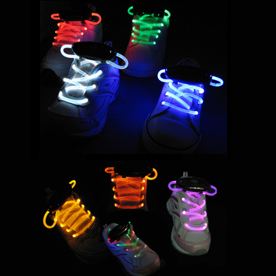 Multi-color lichtgevende led veters