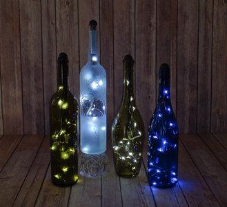 Light my bottle - Maak een verlichte sfeer fles