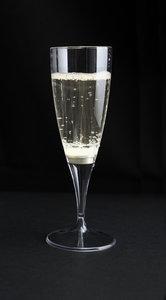 Witte lichtgevende champagneglazen 10