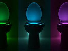 toilet licht