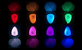 kleuren toilet licht